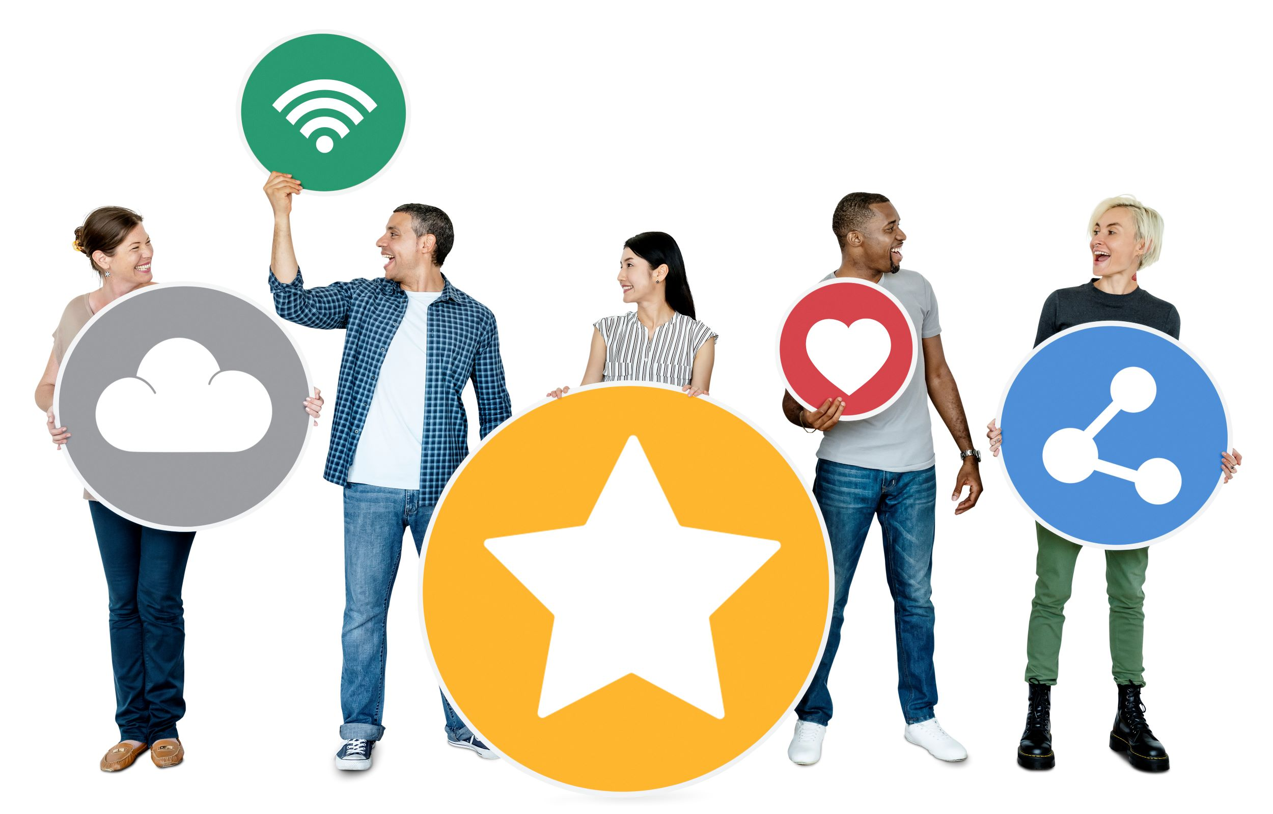 happy-people-holding-internet-icons-QRSTNGA